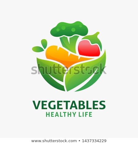 awesome vegetables Stock photo © balasoiu