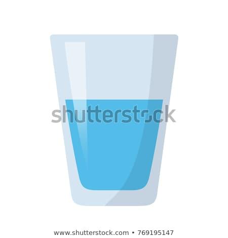 vidrio · frescos · saludable · agua · mineral · vector · diseno - foto stock © rastudio