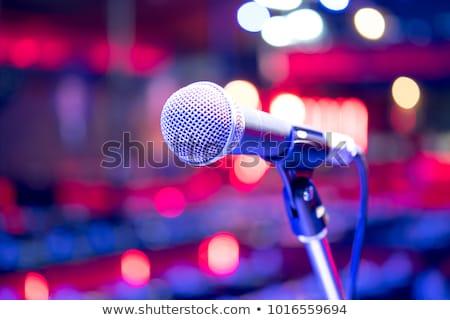 Close-up of microphone Stock photo © wavebreak_media