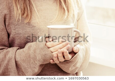 Pouring a warm drink Stock photo © IS2