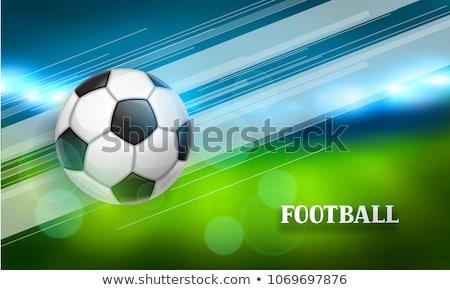 Футбол лига Flyer дизайна спортивных Мир Сток-фото © SArts