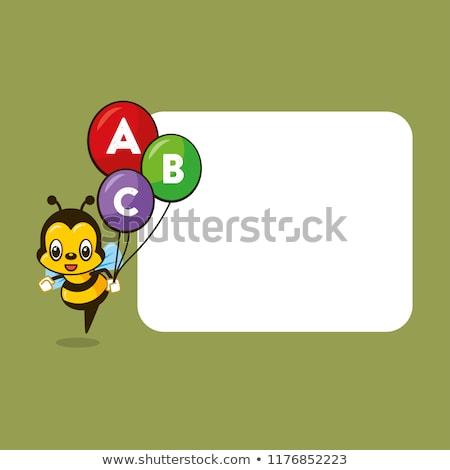 desenho · animado · insetos · colorido · vetor · conjunto · branco - foto stock © lenm