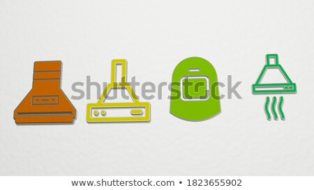 Copper Awning Stock photo © 2tun
