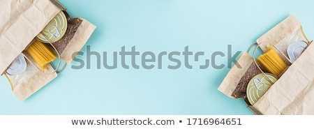 preserved food banners set of canned products stock photo © robuart