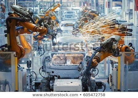 Voiture production détail fiche métal technologie Photo stock © boggy