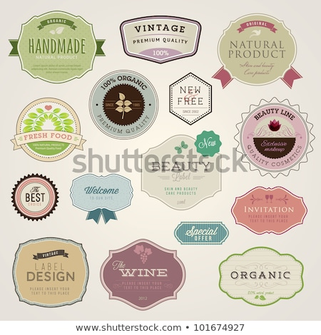 exclusive natural products vector illustration stock photo © robuart