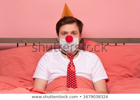 Moço aniversário hospital sorrir festa Foto stock © Elnur