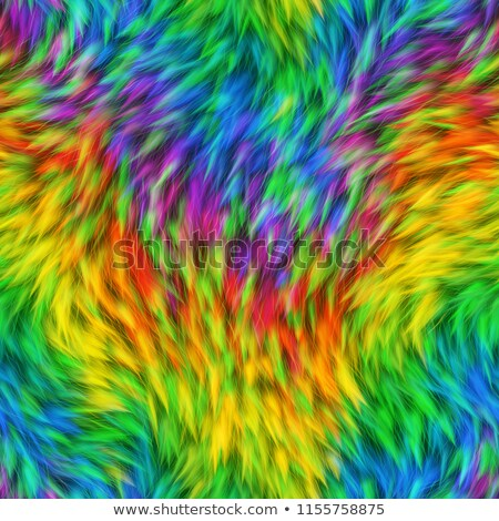 Seamless rainbow texture. Abstract multicolor pattern. Repeated holographic elements. Stock photo © ESSL
