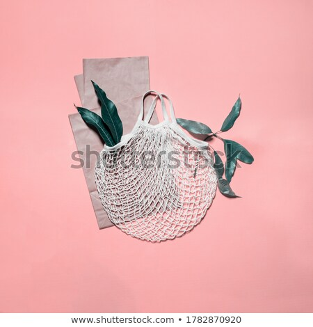 String zak plastic nul afval lifestyle Stockfoto © user_10144511