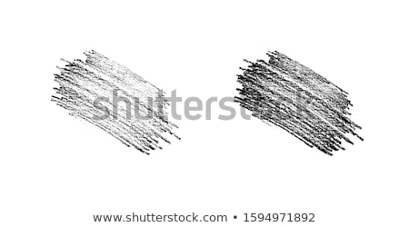 lápis · estilo · áspero · esboço · bonitinho - foto stock © Blue_daemon