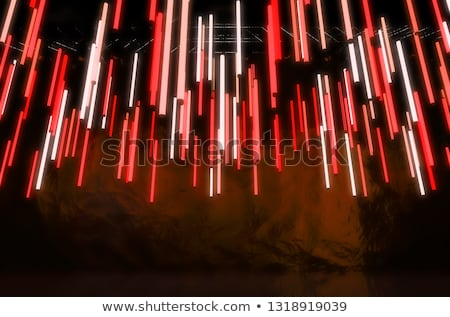 hanging florescent tube decor stock photo © albund
