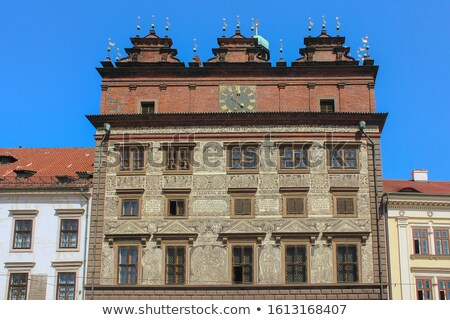 Old Town Hall on Republic Square in Pilsen  Stock photo © benkrut