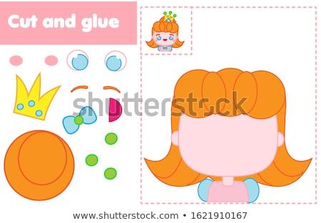 peuters · speelgoed · meisje · jongen · konijn - stockfoto © anastasiya_popov