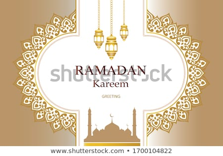 eid festival worship mosque design banner Stock photo © SArts