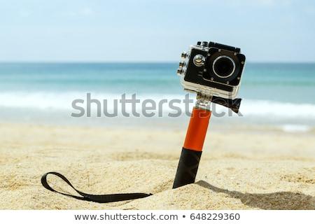 Caso sport fotocamera piccolo difficile sport Foto d'archivio © jarp17