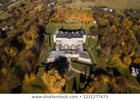 замок Украина жилой западной восемьдесят небе Сток-фото © borisb17