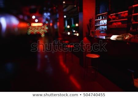 Night Life, Empty Bar with Table and Stools Pub Stock photo © robuart