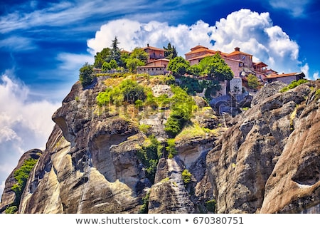 Monasteries of Meteora, Greece Stock photo © dmitry_rukhlenko