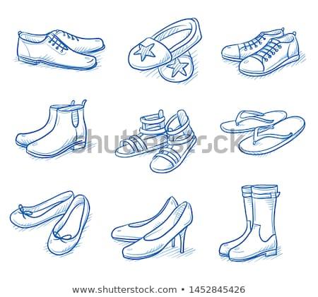 Desenho animado correia algodão roupa interior lingerie Foto stock © blamb