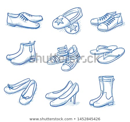 Cartoon thong katoen ondergoed lingerie Stockfoto © blamb