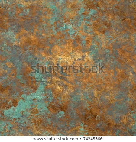 Seamless Grunge wallpaper in an old gold Stock photo © tottoro