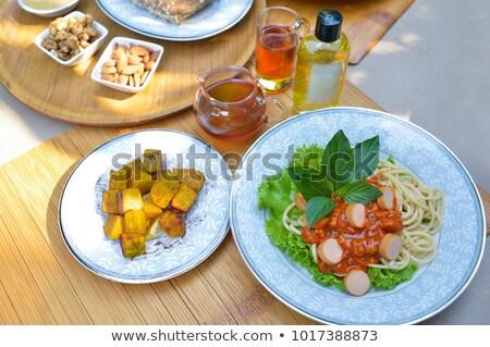 resumen · diseno · hortalizas · alimentos · naturaleza - foto stock © boroda