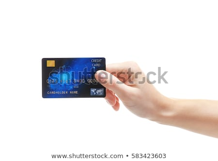Holding Credit Card And Cash Stock photo © williv