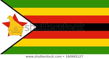 ジンバブエ フラグ フラグ 土地 ストックフォト © idesign