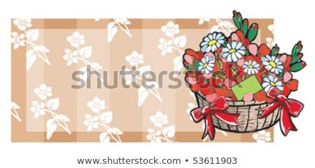 flower pot from terracotta 01 Stock photo © LianeM