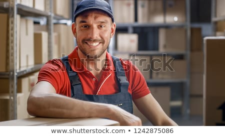 factory worker in his office stock photo © photography33