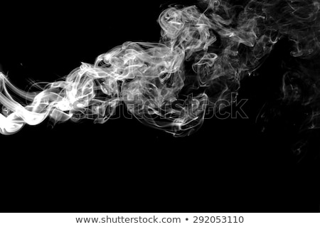 magic abstract fume shapes on white stock photo © arsgera