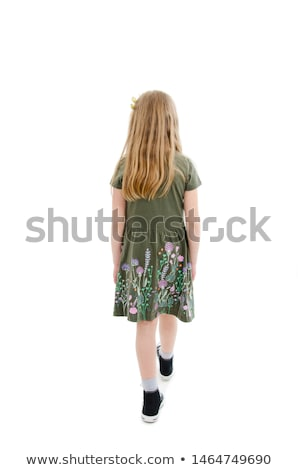 Little girl observing model Stock photo © photography33
