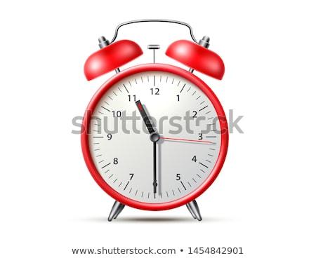 Table horloge isolé blanche technologie Photo stock © HectorSnchz