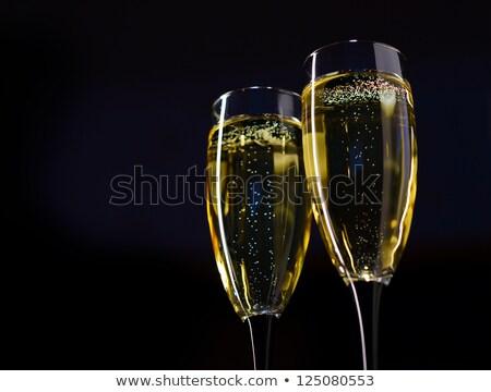 champanhe · brilhante · vítreo · turva · luzes - foto stock © maxpro