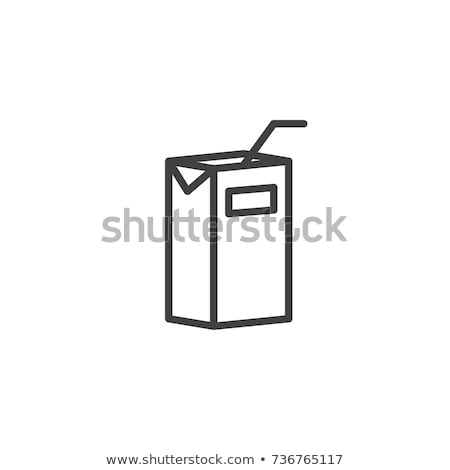 Milk or juice pack Stock photo © Givaga