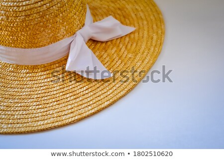 Detail of a wide-brimmed sombrero Stock photo © sarahdoow
