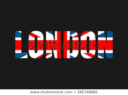 Londen · tekst · geschreven · verbinding · bol · brug - stockfoto © marinini
