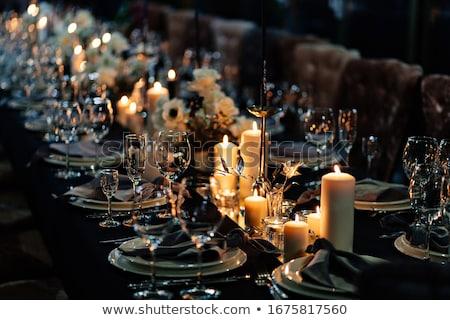 Stock photo: Wedding candle