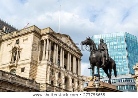 Wellington heykel Londra dışında banka İngiltere Stok fotoğraf © chrisdorney