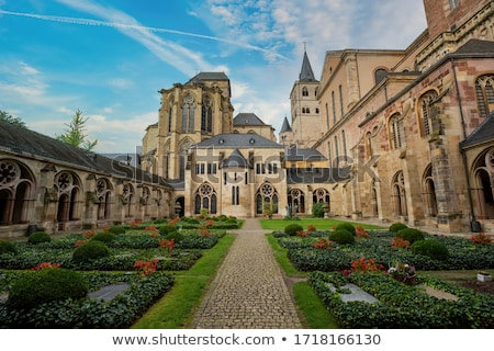 The cloister of Trier Cathedral, Germany Stock photo © aladin66