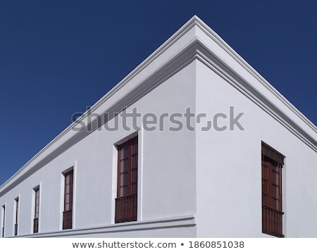 Detail of white house under blue sky  Stock photo © CaptureLight