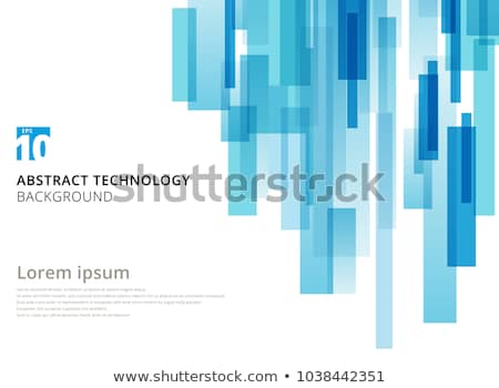 Abstract rechthoek eps 10 ontwerp technologie Stockfoto © HelenStock