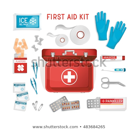врач · первая · помощь · окна · азиатских · мужской · доктор - Сток-фото © loopall