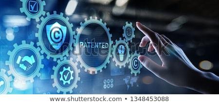 Patente falsificação dicionário definição palavra Foto stock © devon