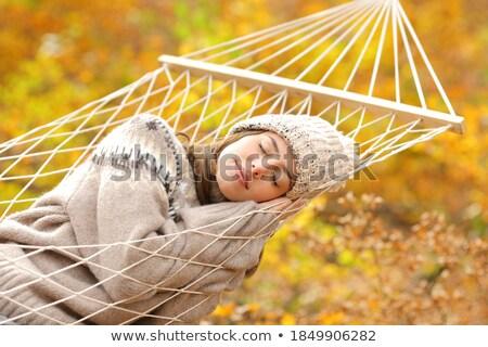 女性 屋外 ライフスタイル 小さな ビジネス 公園 ストックフォト © Kor