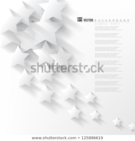 Abstract Overlapping Stars background Stock photo © deomis