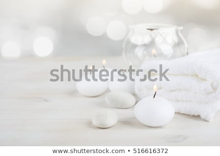 wooden background elements spa treatments stock photo © fotoaloja
