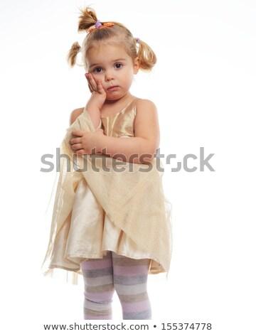シークイン · ドレス · ベルト · 孤立した · 白 - ストックフォト © nejron