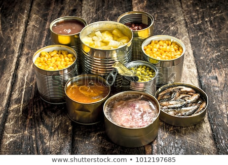 Canned Food Stock photo © cosma