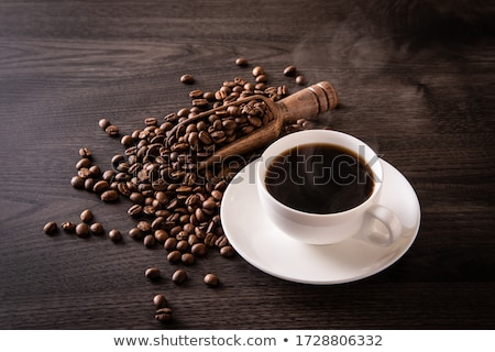 relaxing time with aroma roasted coffee stock photo © nalinratphi